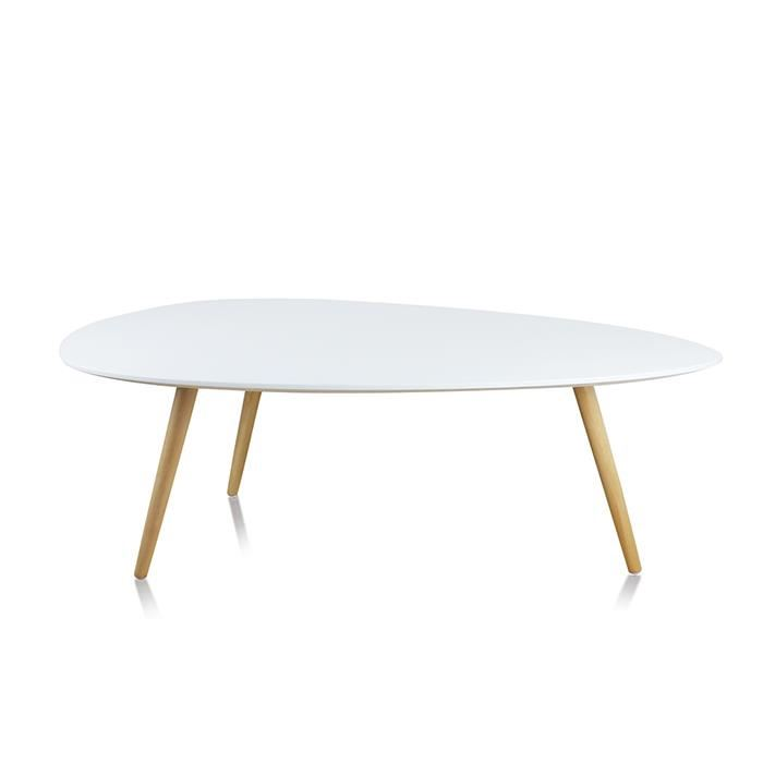 Table basse salon ronde ou ovale