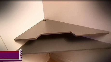faire son meuble tv d 39 angle. Black Bedroom Furniture Sets. Home Design Ideas