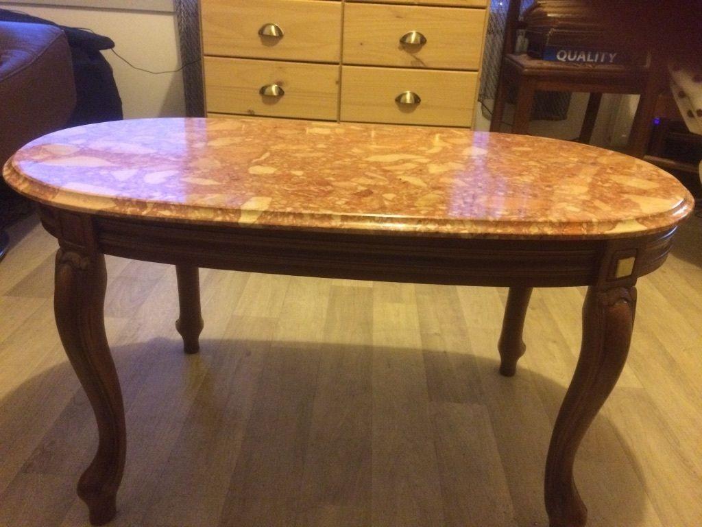 Prix table basse dessus marbre