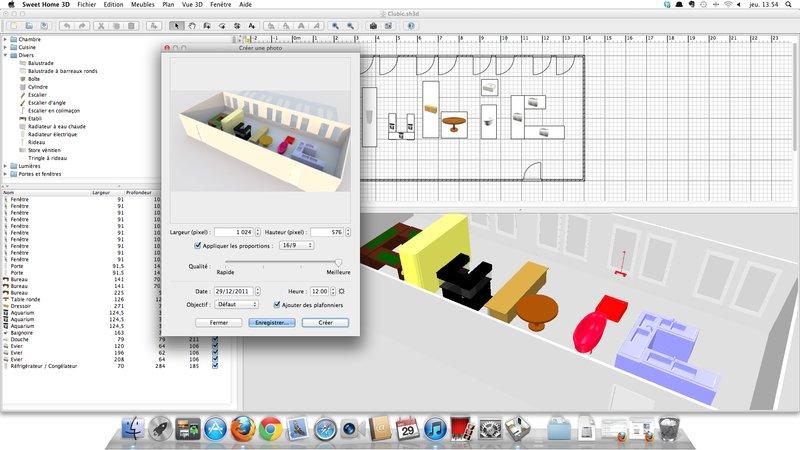 Logiciel conception cuisine 3d gratuit pour mac