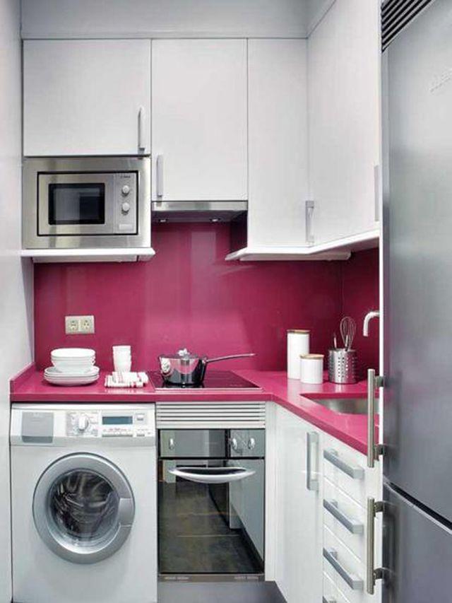 Modele de petite cuisine ouverte