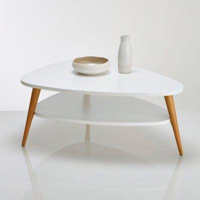 Table basse vintage laquée