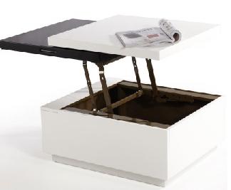 Table basse plastique gifi