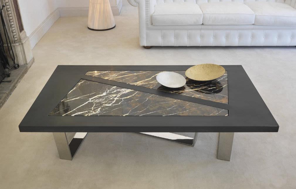Table basse en marbre moderne