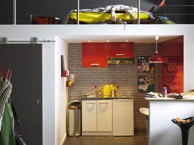Idée déco cuisine studio