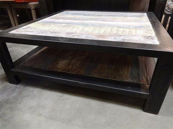 Table basse carrée 110 x 110