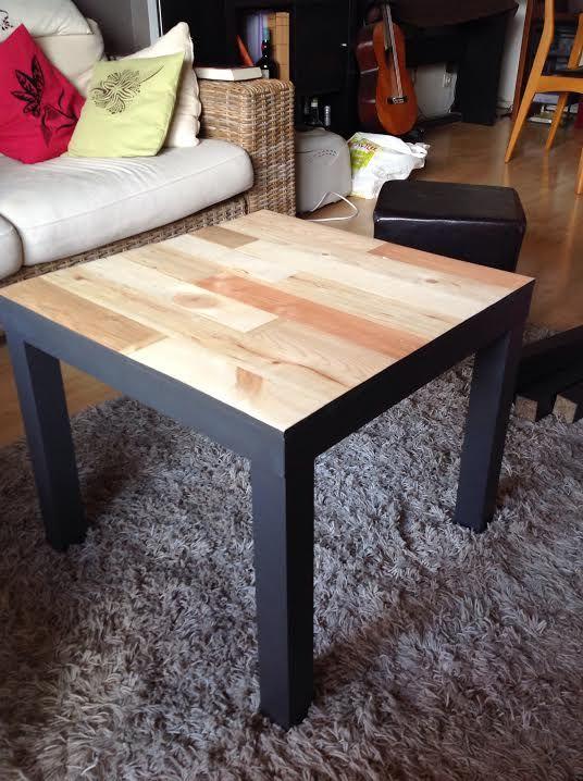 Table basse style industriel ikea