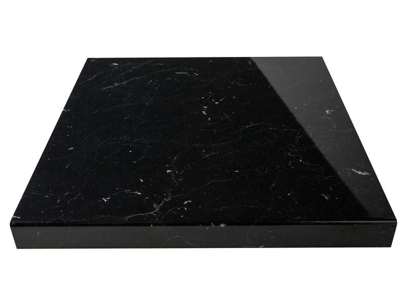 Plan de travail marbre noir conforama