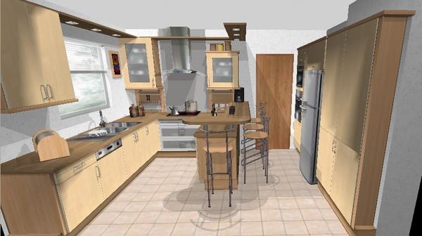 logiciel de plan de cuisine gratuit. Black Bedroom Furniture Sets. Home Design Ideas