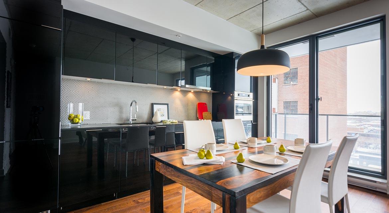 Table de cuisine urbaine