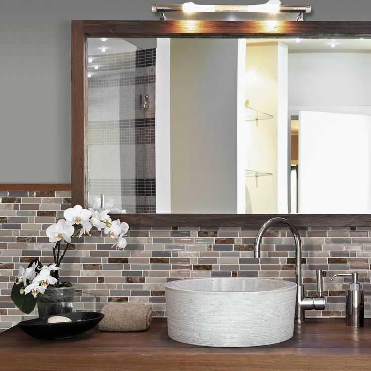Adhesif plan de travail salle de bain