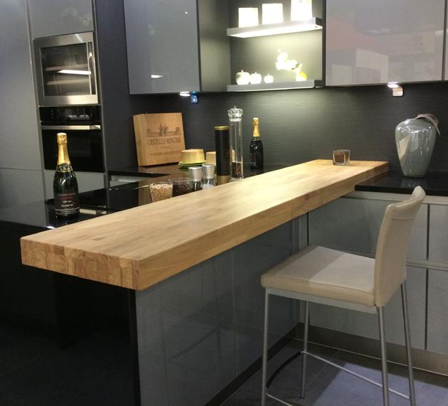 Table haute cuisine plan de travail