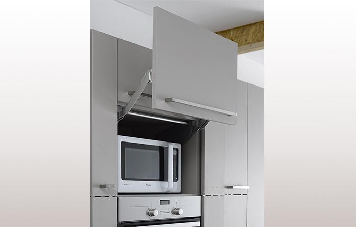 Meuble haut cuisine pour micro onde