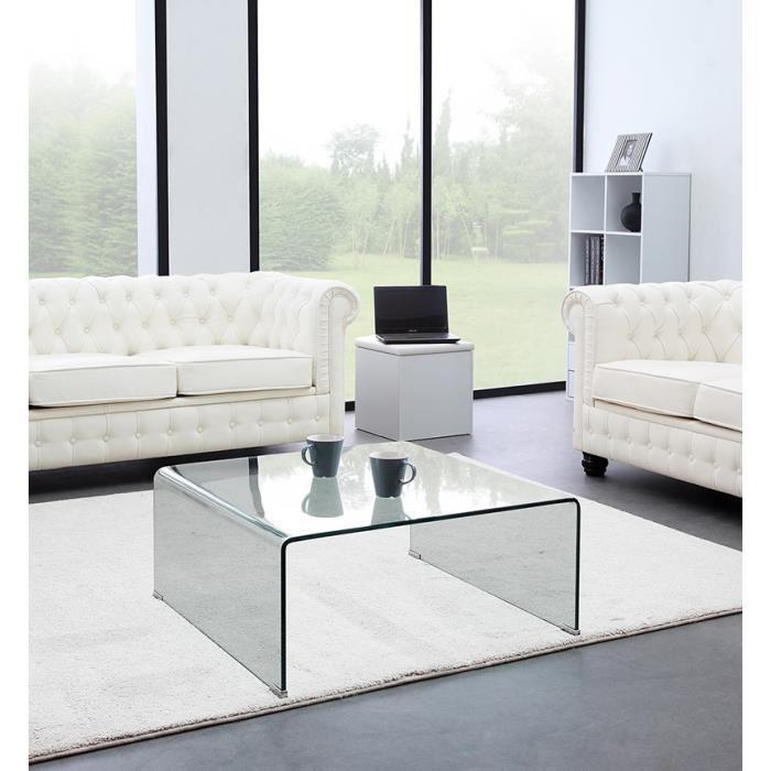 Vente table basse en verre
