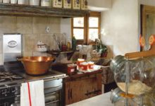 Modele de cuisine ancienne en bois - tendancesdesign.fr