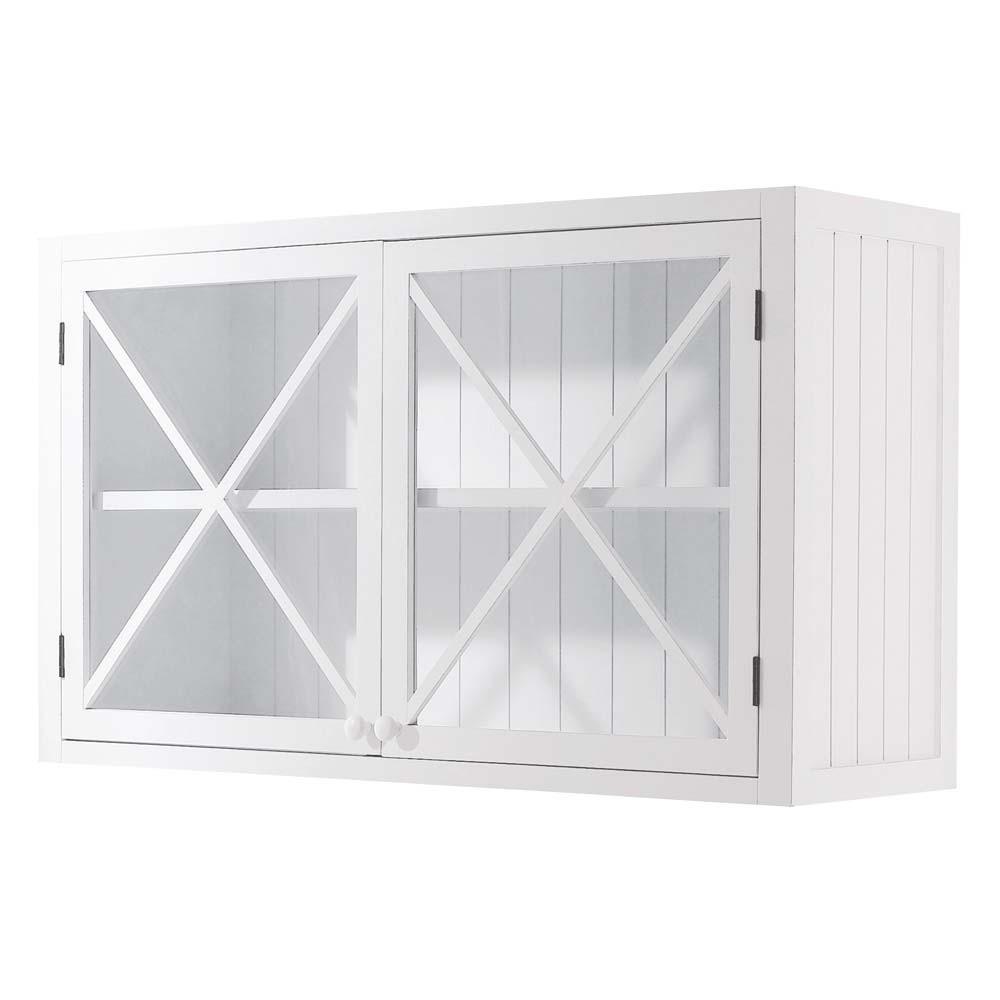 Meuble haut cuisine vitrée but