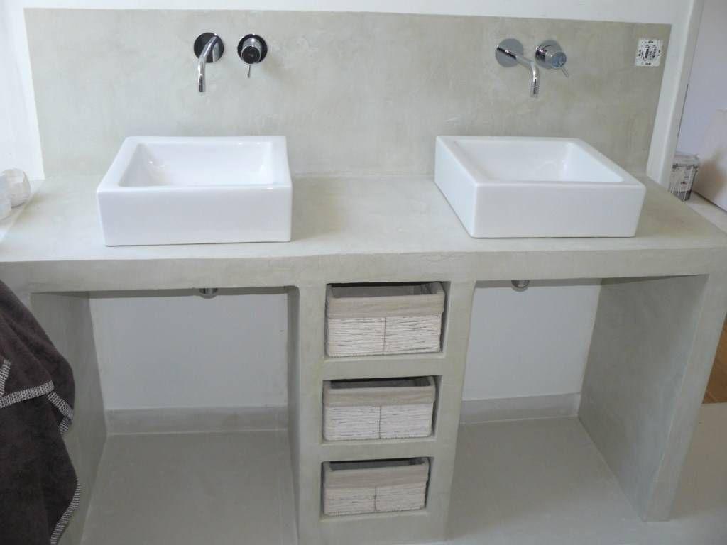 Tuto plan de travail salle de bain