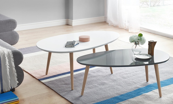Table basse scandinave groupon