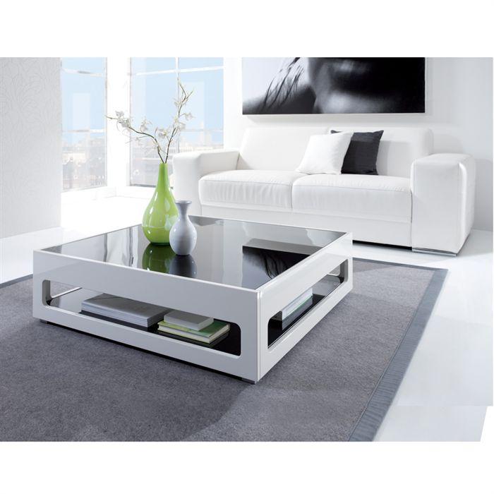 Table basse en verre soldée
