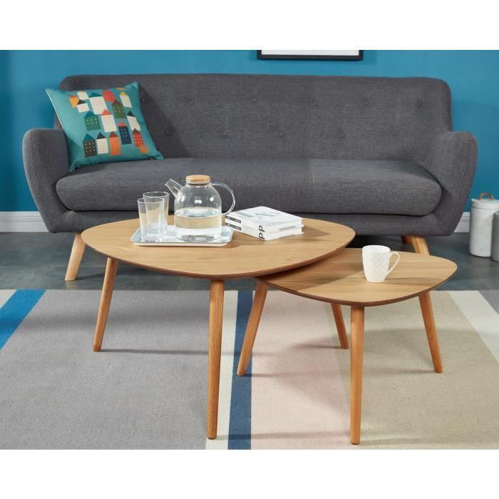 table basse scandinave chene. Black Bedroom Furniture Sets. Home Design Ideas