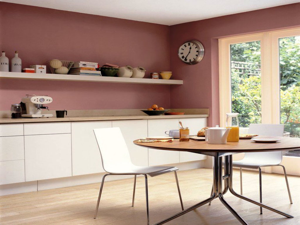 peinture mur cuisine tendance