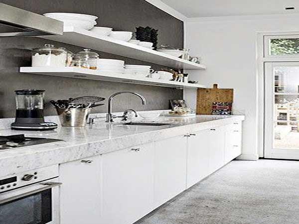 Couleur pour cuisine avec meuble blanc