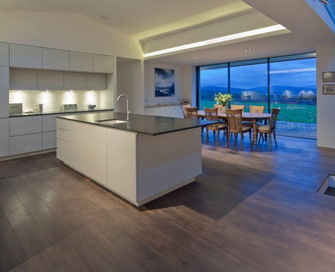Modele de maison avec cuisine ouverte - tendancesdesign.fr