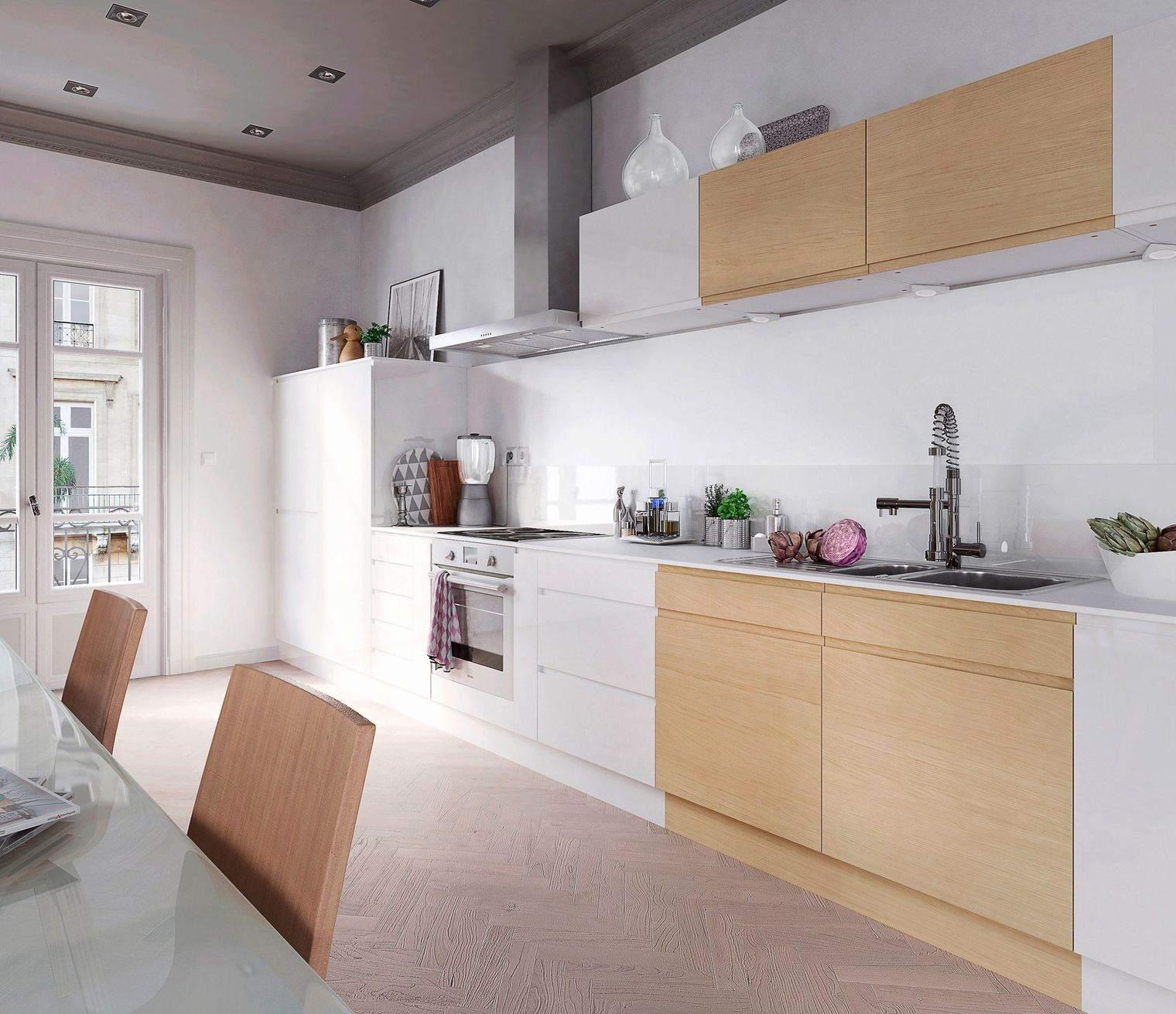 Photo de cuisine blanche moderne