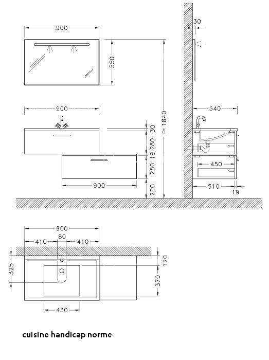 hauteur plan travail cuisine handicap. Black Bedroom Furniture Sets. Home Design Ideas