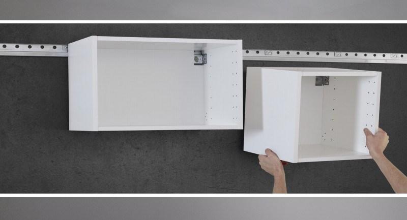 Rail de fixation meuble haut cuisine leroy merlin