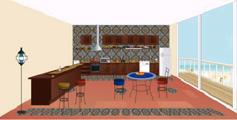 Modele de cuisine traditionnelle marocaine
