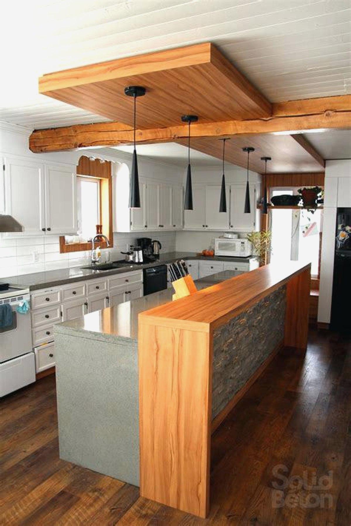 Modele de cuisine avec comptoir - Cuisine ouverte avec comptoir ...