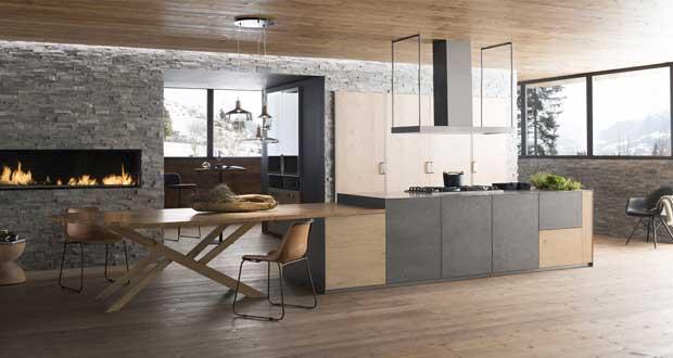 Photo deco cuisine ouverte sur salon