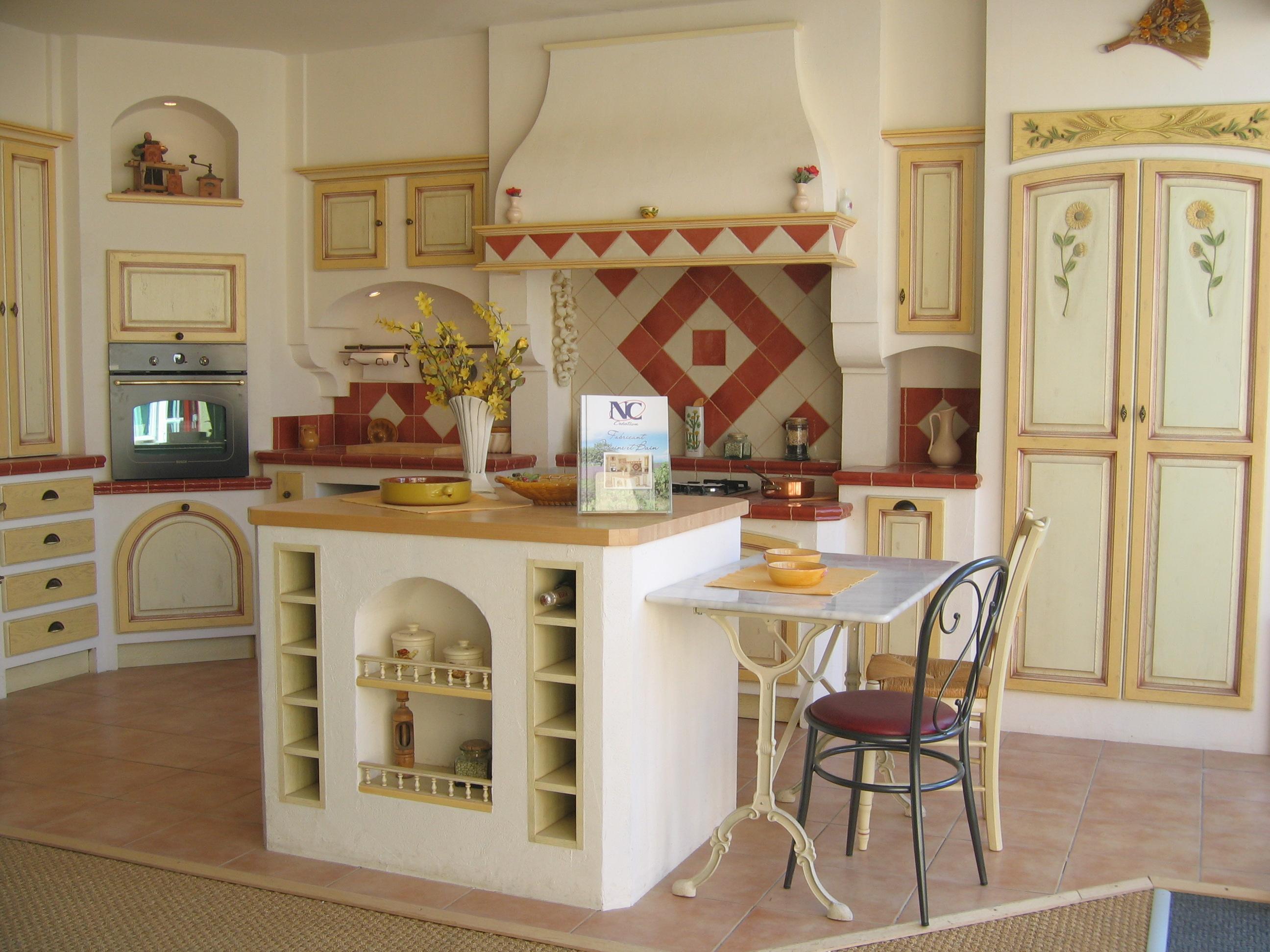 Modele cuisine provencale jaune - Modele de cuisine provencale ...