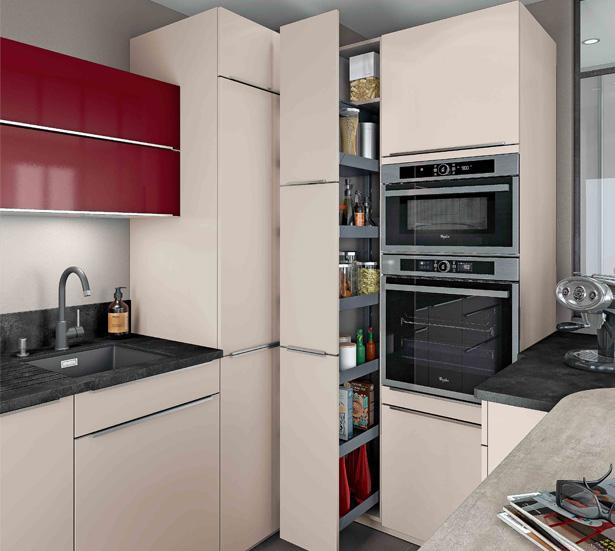 Modele cuisine petit espace