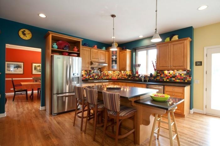 Idee couleur peinture meuble cuisine