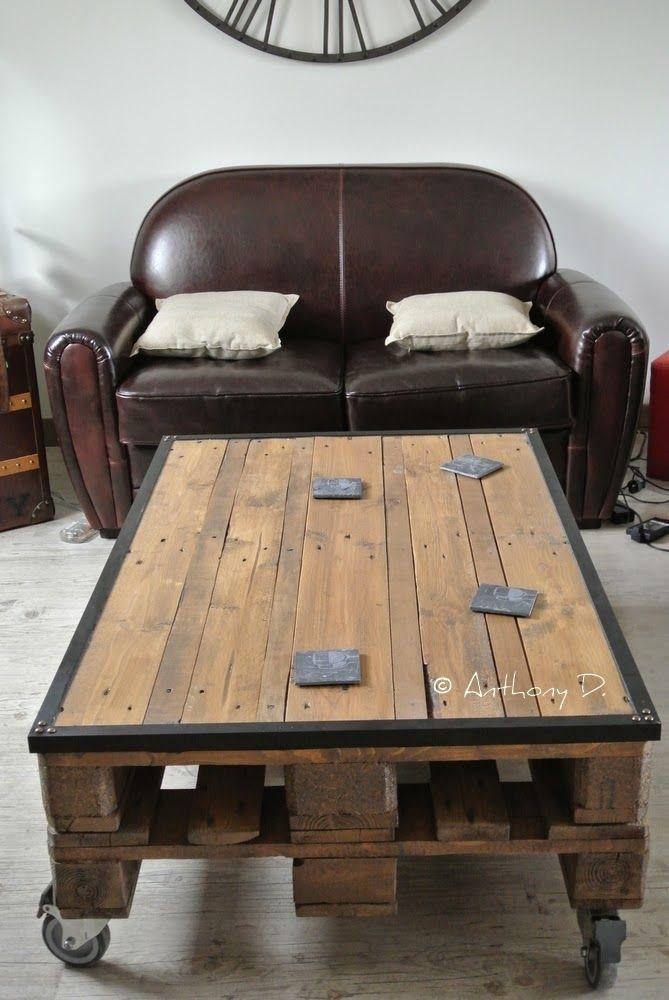 Acheter table basse palette bois - Acheter table basse palette ...