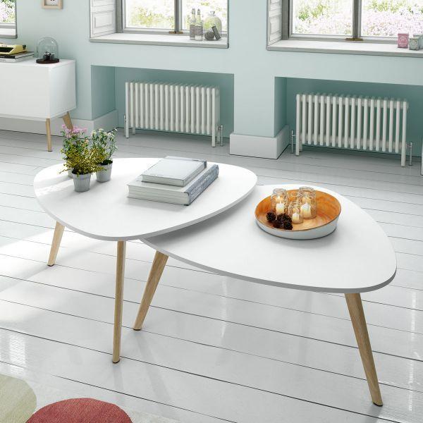 Creer une table basse scandinave