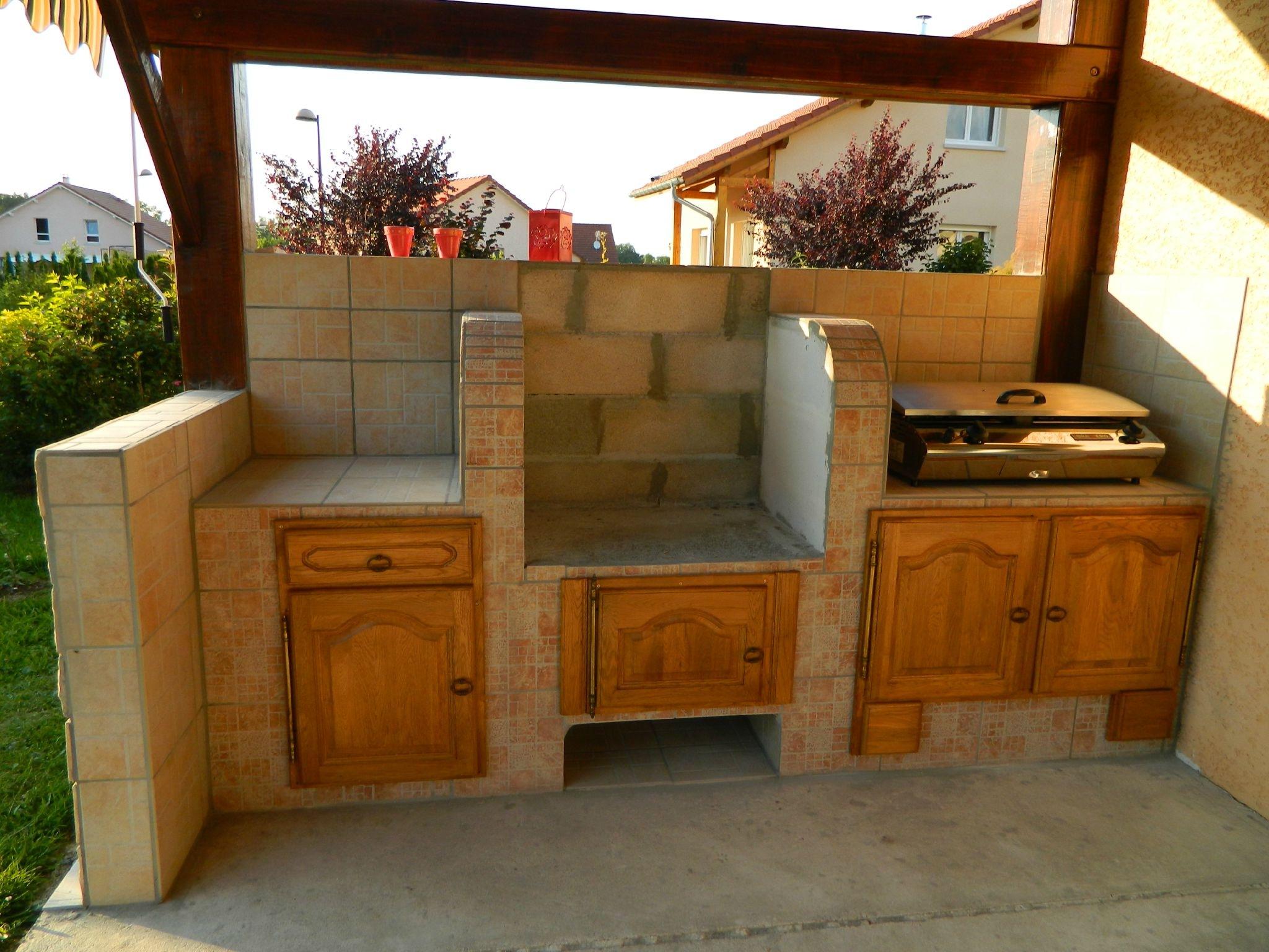 Construire cuisine exterieure beton - Construire cuisine ...
