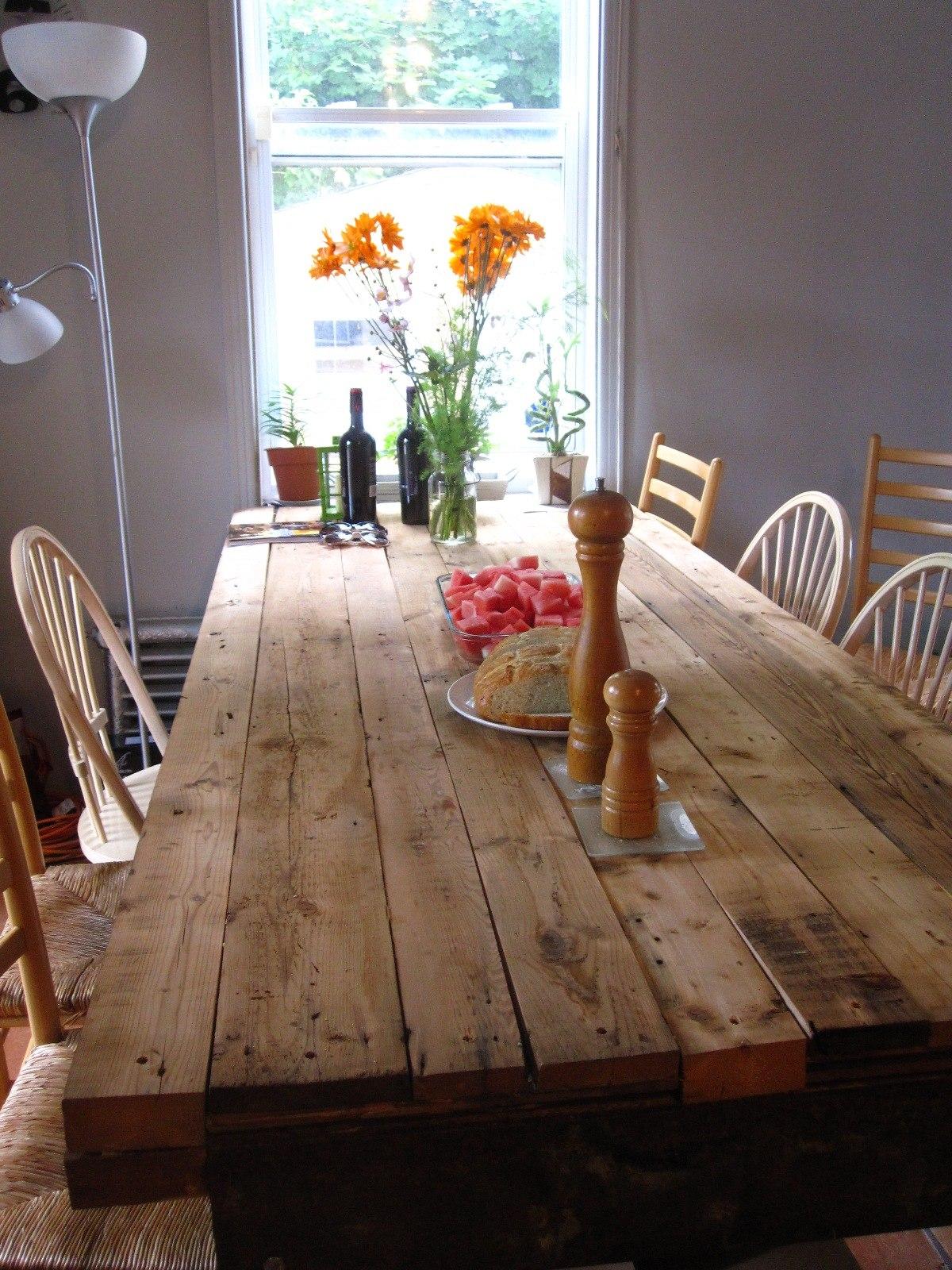 Fabriquer sa table de cuisine en bois