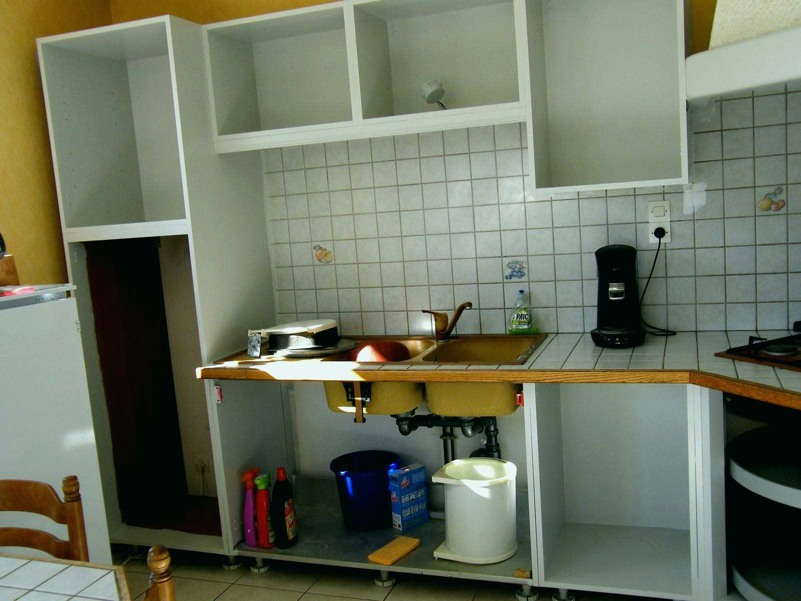 cuisine ikea faktum grise. Black Bedroom Furniture Sets. Home Design Ideas