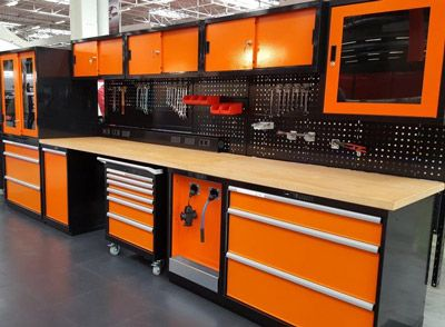 Plan de travail atelier garage
