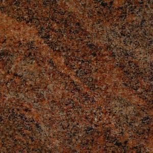 Plan de travail cuisine granit marron