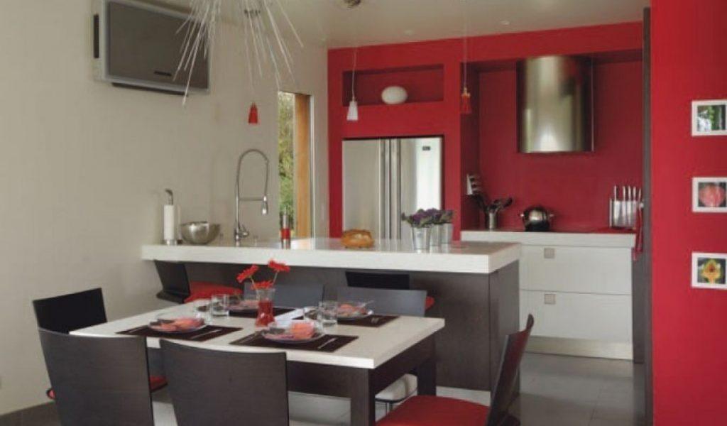 Idee deco cuisine ouverte salon