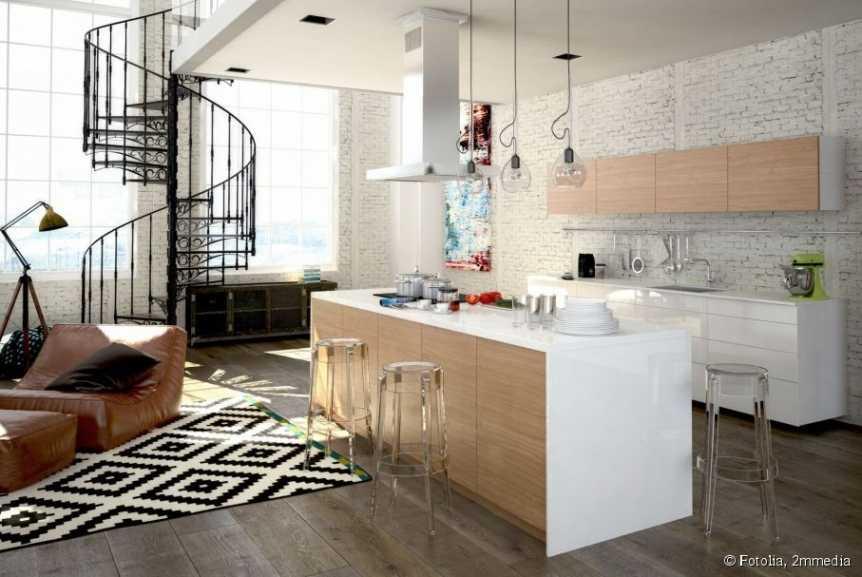 Idée déco cuisine salon