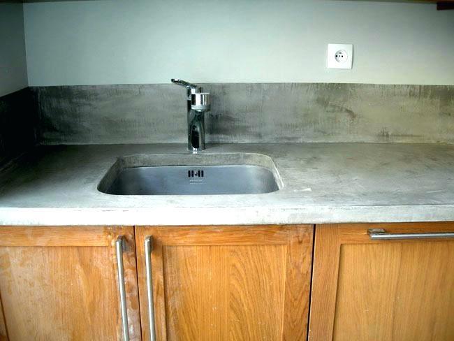 Plan de travail cuisine beton cire avis