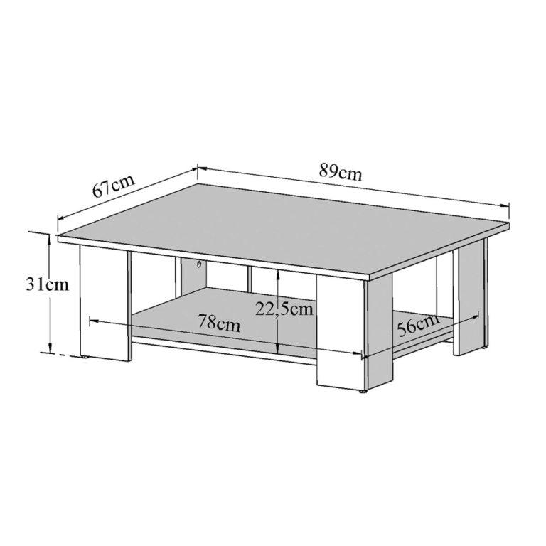 Table basse hauteur