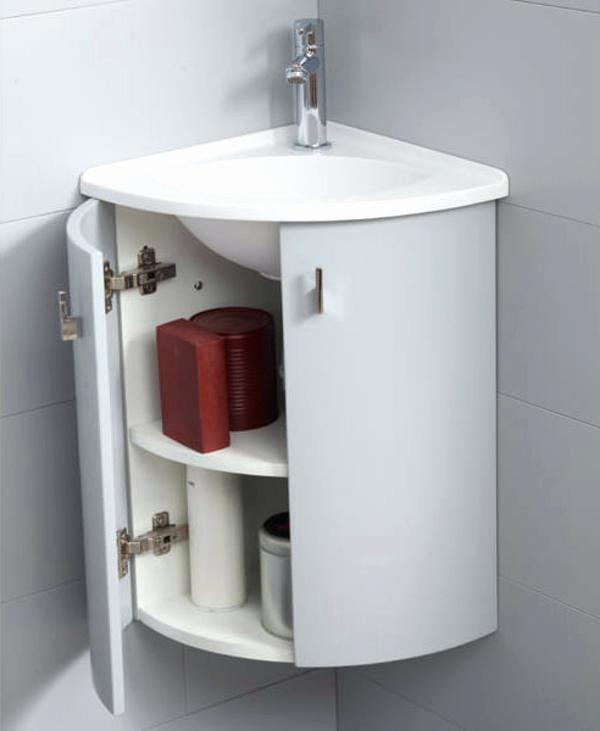 Meuble d'angle lave main wc - tendancesdesign.fr