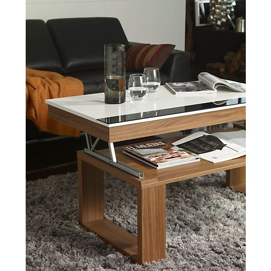 table basse qui monte. Black Bedroom Furniture Sets. Home Design Ideas