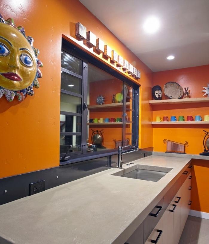 Idee deco salon salle a manger cuisine ouverte